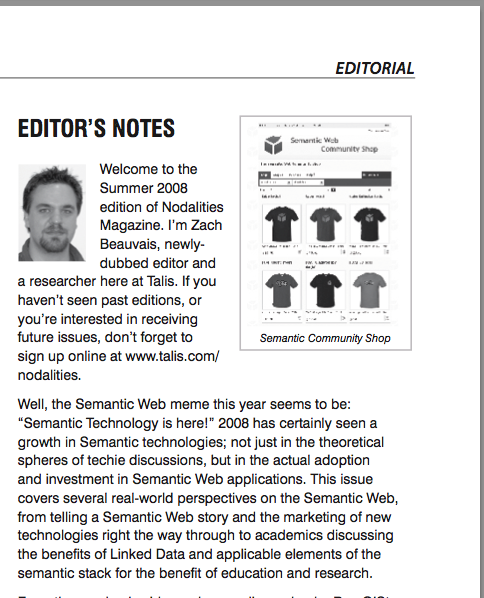 semantic web editors notes