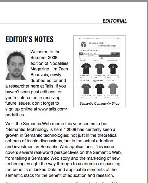 semantic web editors notes